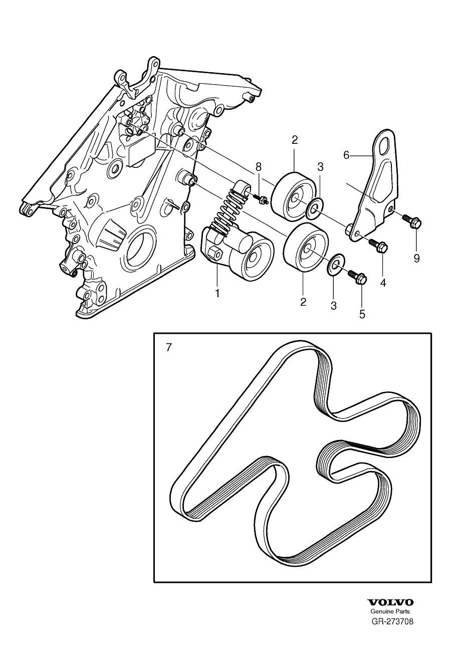 volvo s60 parking brake diagram