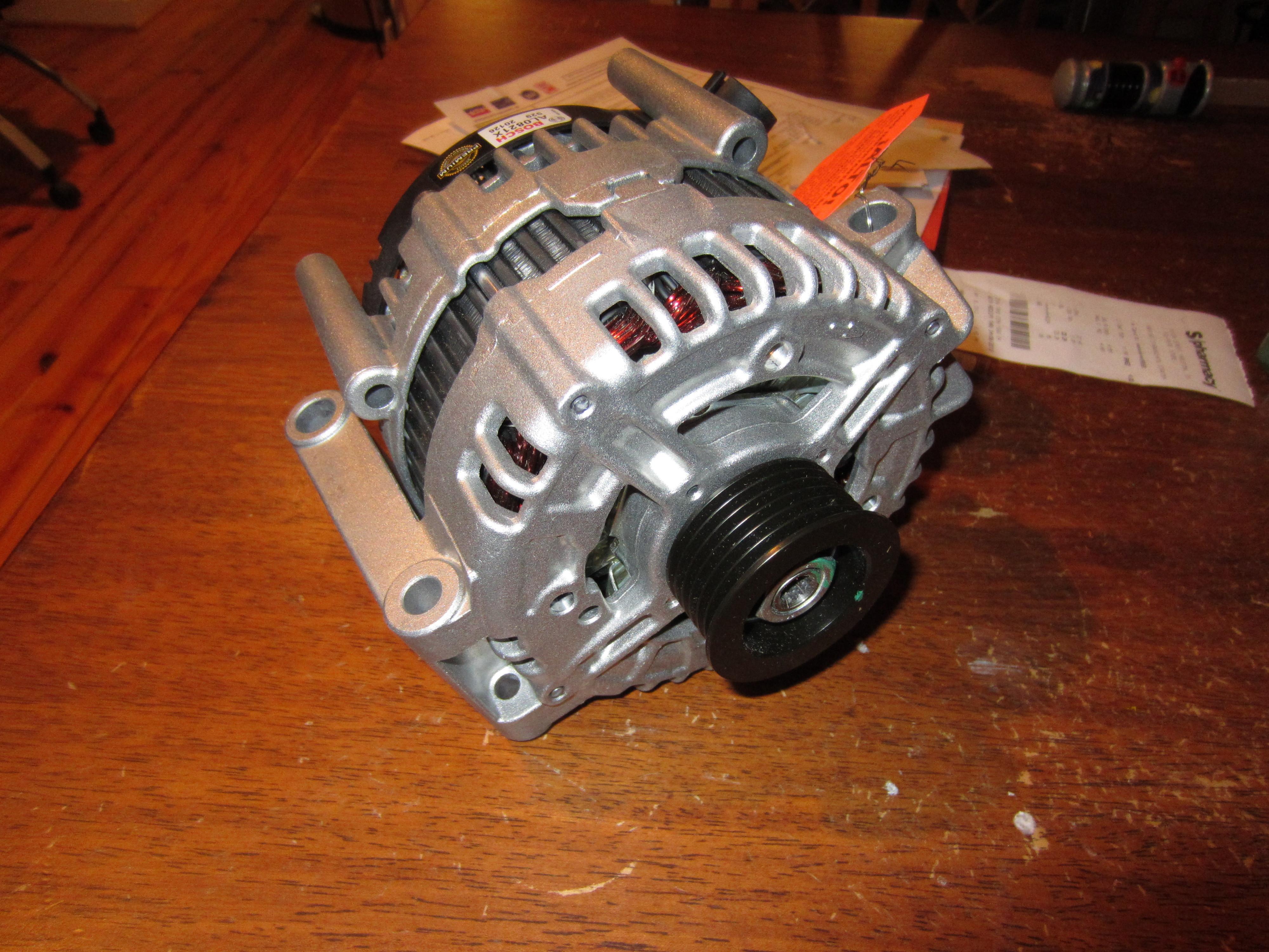 Lets change an alternator in a V8 Volvo XC90! - General [M]ayhem