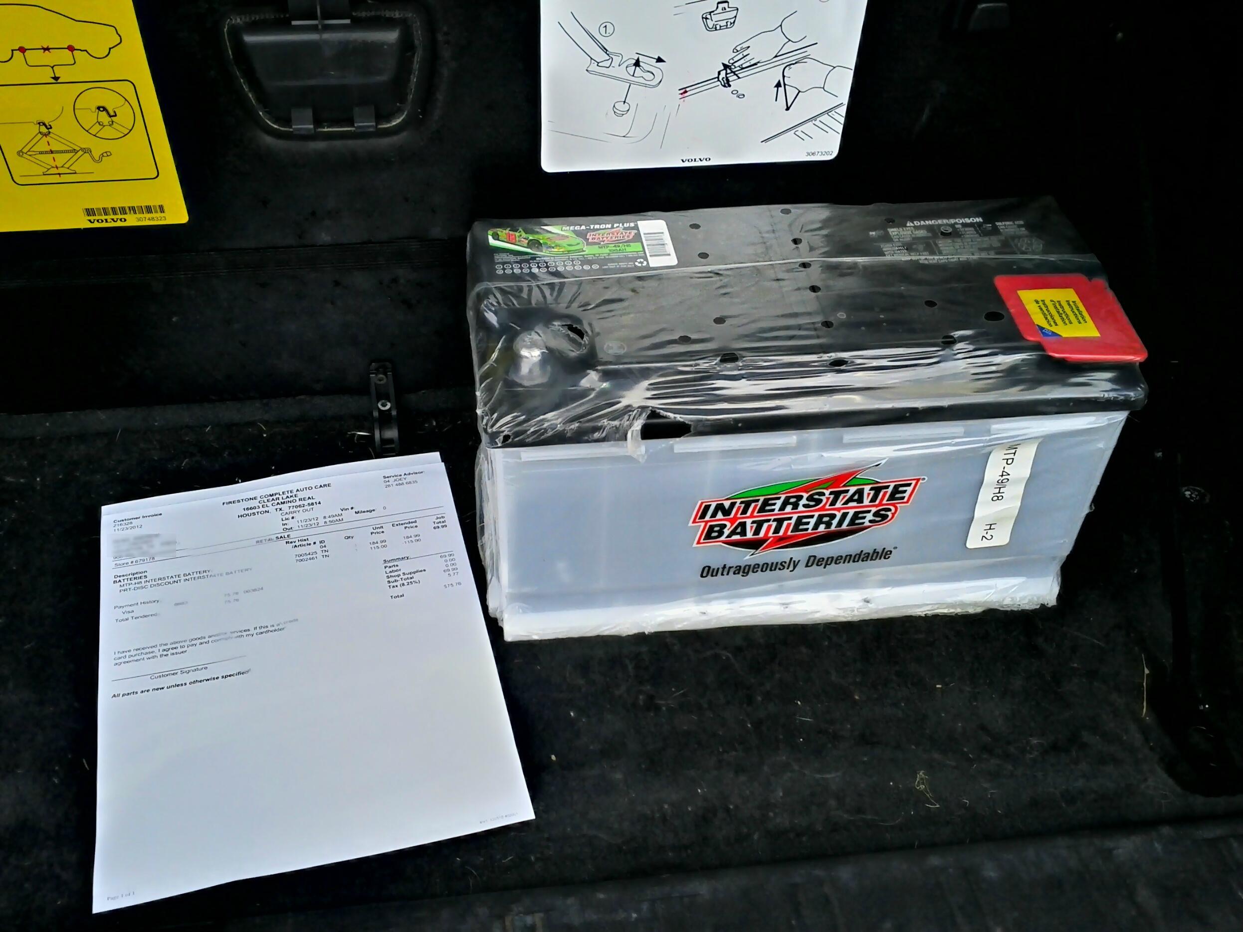 Battery coupon auto